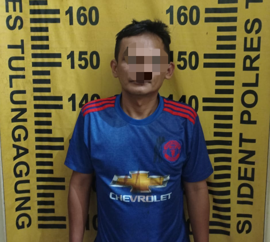 Seminggu Pasca Merampas HP, Pria Ini Berhasil Ditangkap Polsek Tulungagung Kota