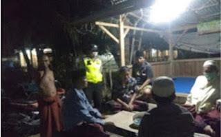 Sambang Pos Kamling, Anggota Polsek Klampis Polres Bangkalan