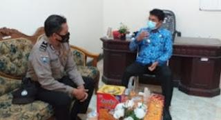 Anggota Babinkamtibmas Polsek Klampis Polres Bangkalan Silaturahmi di Desa-desa