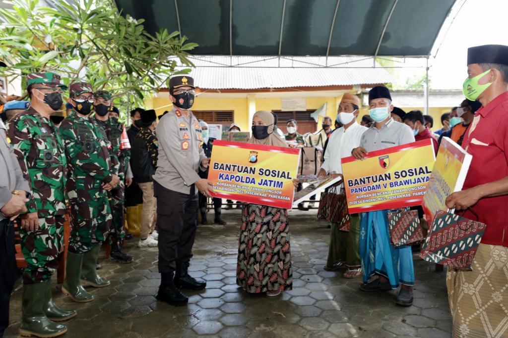 Forkopimda Jatim Silaturahmi dan Takziayah ke Pondok Pesantren Annidhomiya, Pamekasan