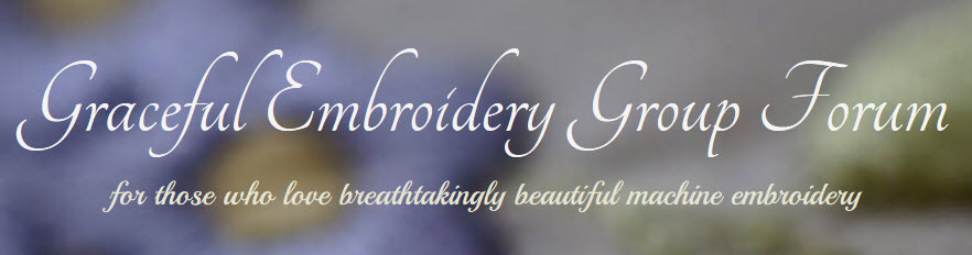 The Graceful Embroidery Group Forum